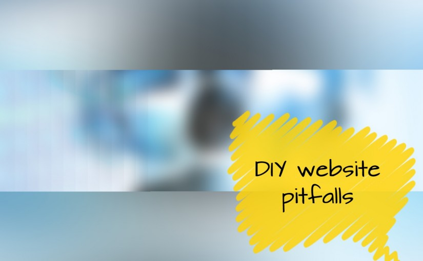 DIY website pitfalls