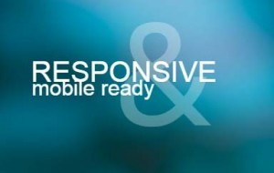be responsive and mobile ready