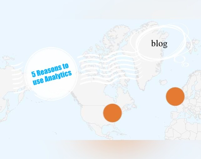 5 Reasons to use Analytics