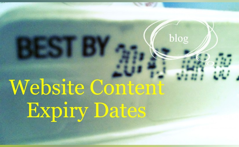 Website Content Expiry Dates