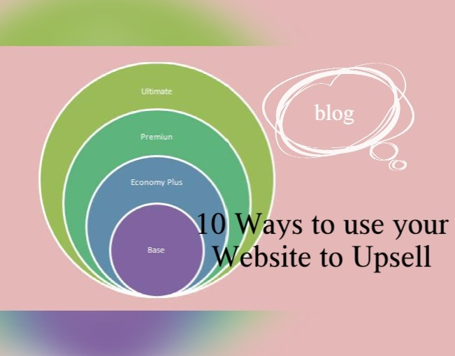 10 Ways to Use Your Website to Upsell